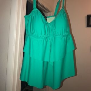 Size two bathing suit top from torrid